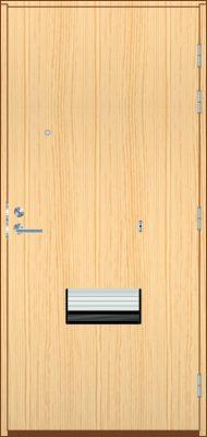 Kerrostaso ovi + varusteet, mäntyviilu